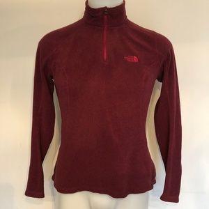 The North Face, Women's Pullover 1/4 Zip Fleece M